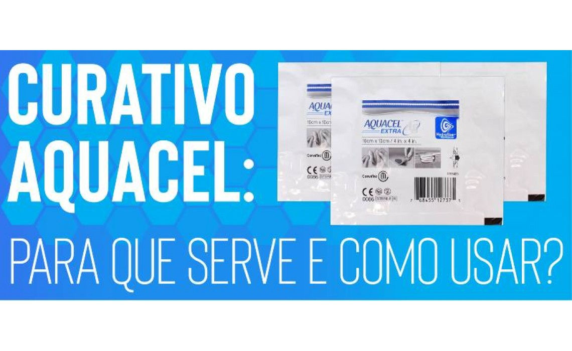 Curativo Aquacel: Para que serve e como usar?