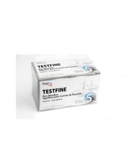 Agulha para Caneta de Insulina 5mm Testfine - TestJect